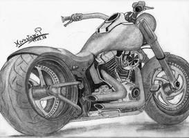 Harley-Davidson Rocker Custom by LordMiras