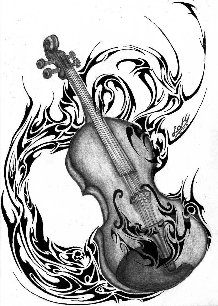 Imaginarium Violin by LordMiras