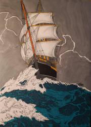 HMS Wonder by LordMiras