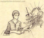 imagination overload by markprincipe