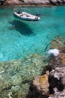 Boat in Cove by pjones747