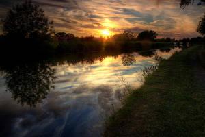 Sunset on the Longest Day by pjones747
