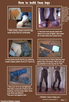 How to build faun legs. by Tamyes-ellebasi