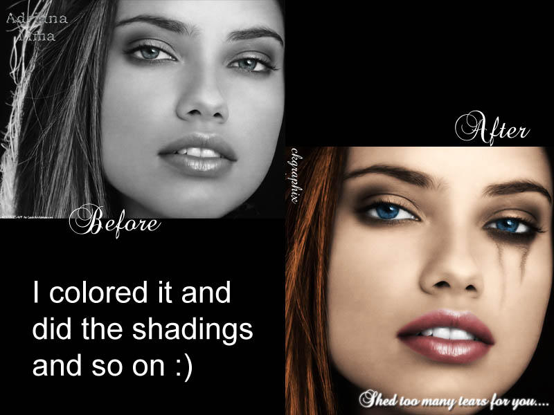 Adriana Lima Before And After By Shrekchubs