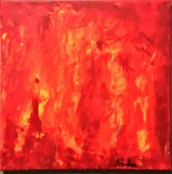Fire Devours Their Wealth  by BruceFaulkner