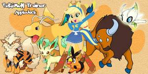 Pokemon Trainer Applejack by LightDegel