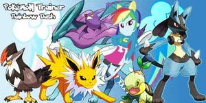 Pokemon Trainer Rainbow Dash by LightDegel