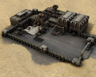 Military Desert Outpost MK1 by eRe4s3r