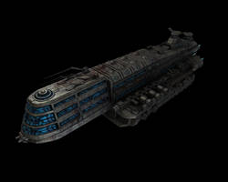 Space Passenger Cruiser by eRe4s3r