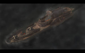 Steam Cruiser on Fire by eRe4s3r
