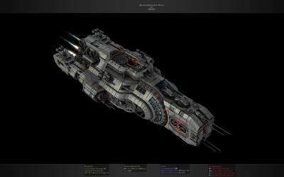 Dacorum Space Exploration Vessel by eRe4s3r