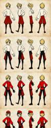 Child Link Messenger Uniform Reff by DemonRoad