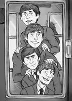 The Beatles- A hard day's night by hi-host