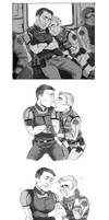 Resident Evil 6- Nivanfield comic by hi-host