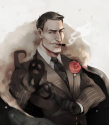 Don't Starve - Maxwell by hi-host