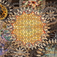 circles of quanta three (breath) [clock] by andyvanoverberghe