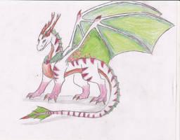 Christmas Dragon by Wolf-Dragon-Girl
