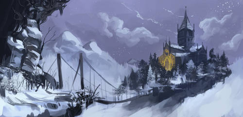 Painted World of Ariandel by Borvar