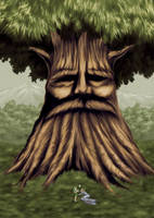 Deku tree by ZaloHero