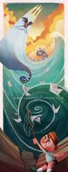 Poseidon by Ivyel
