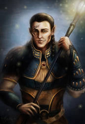 Warden Alim Surana by YoungGirlBlues
