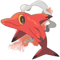Fire Dolphin Fakemon Sold by DarkySG