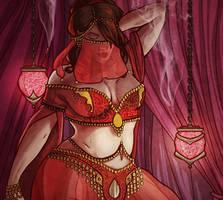 dancing girl by rosiecoleman