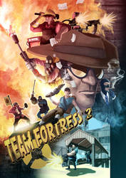 TF2 poster by rosiecoleman