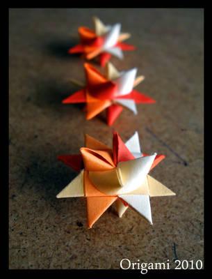 Origami Stars by yamixhikari