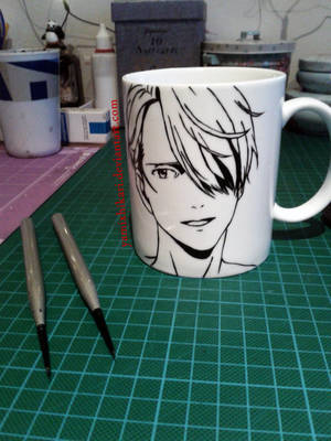 Viktor Hand-painted Mug by yamixhikari