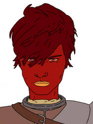 Readhead Short Angry Profile by TheLoveliestLunatic