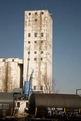 Grain Tower by CaffeinatedSky