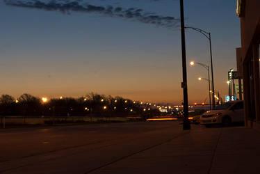 Morning Street by CaffeinatedSky