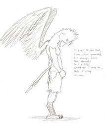 Bird Sketch by haseodragon