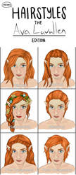 Hair Style Meme by EvieE-Cosplay