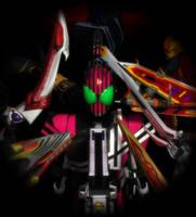 {MMD KAMEN RIDER] Destroyer of their world by MIST-TO-GUN