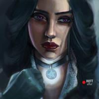 Yennefer by DiteVlk