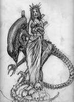 Prom Alien Queen by Newbeing