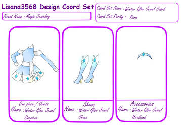 Lisana3568 Design CoordSet:Winter Glow Jewel Coord by Lisana3568