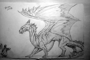 Bronze Dragon (DnD) by Nikzt