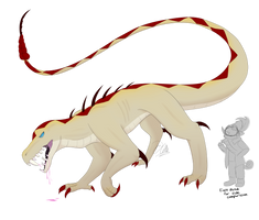 Monster AU Rattle by A-F-T-E-R-G-L-O-W