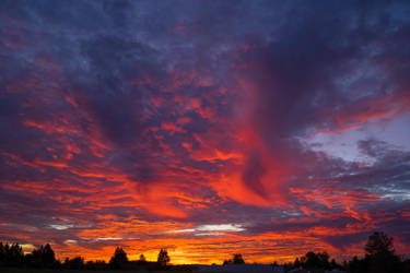 October 2015 Sunset by Lonnieatk