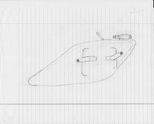 Arkonian Heavy Assault Landship (Unfinished) by smurphy365