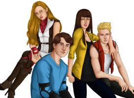Vigilantes - It Teens by kyovgr