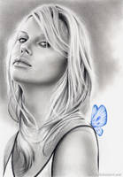 Blue Dreams - Charlize Theron by nabey