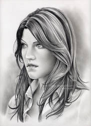 Debra Morgan by nabey