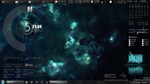 Rainmeter Desktop Mod by akosimark