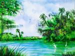 Tropical Florida Landscape by peimar
