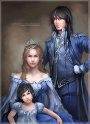 Eleatell Royal Family by omupied