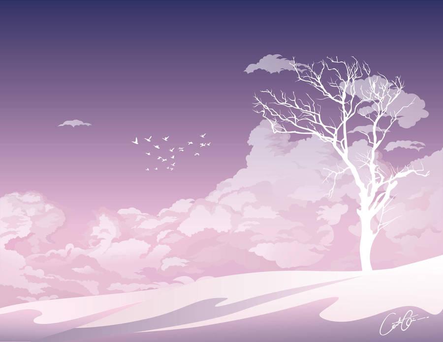 Winter scape by LABINNAK